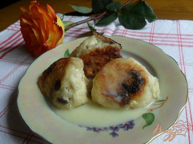 Рецепт Творожные шарики с яблоками