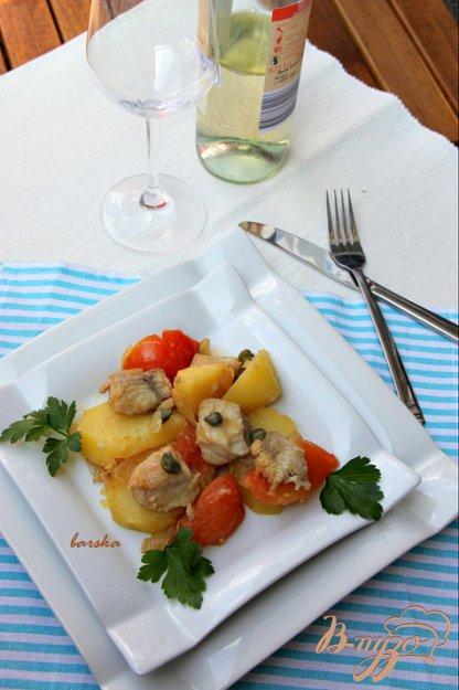 Рецепт Matelote - Матлот.