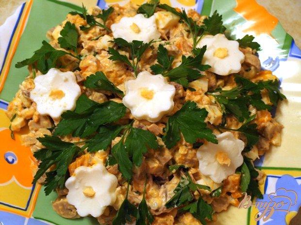 фото рецепта: Салат с тыквой и курицей