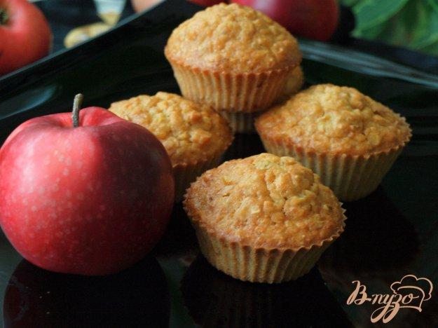 Рецепт Овсяно-яблочные кексы