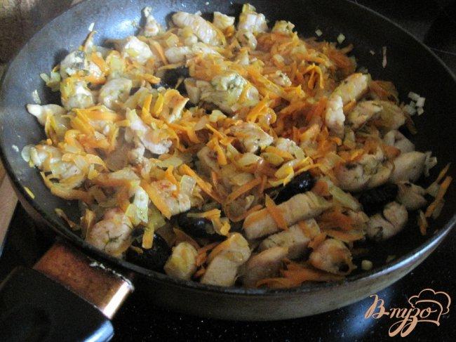 Фото приготовление рецепта: Куриный паштет шаг №6