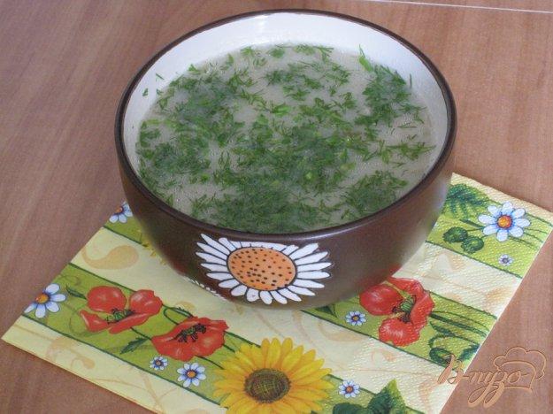 Рецепт Быстрый грибной суп.