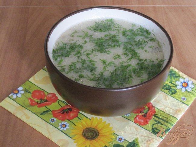 Фото приготовление рецепта: Быстрый грибной суп. шаг №7