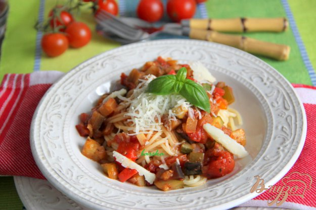 Рецепт Спагетти под овощным Bolognese