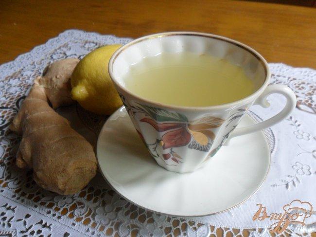 Фото приготовление рецепта: Имбирный чай для похудения. шаг №4