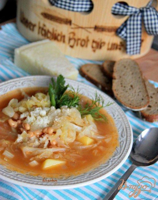 Фото приготовление рецепта: Крестьянский капустный суп шаг №4