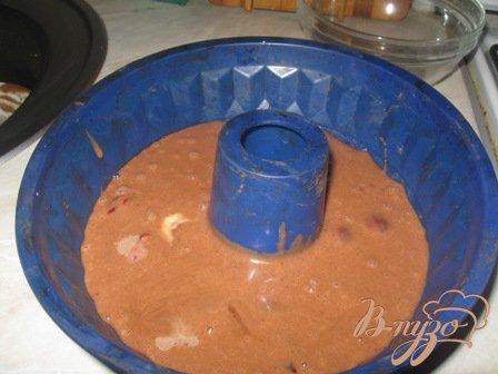 """Кекс """"Вишня в шоколаде"""""""