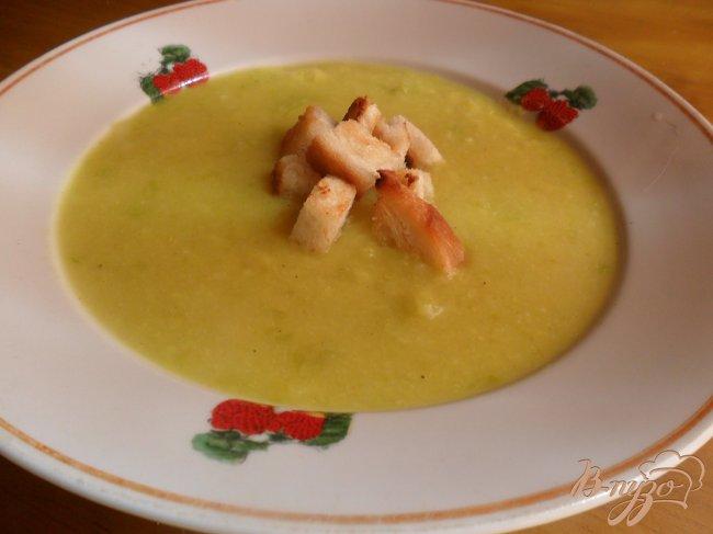 Фото приготовление рецепта: Кабачковый суп - пюре шаг №7