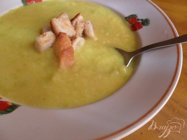 Рецепт Кабачковый суп - пюре
