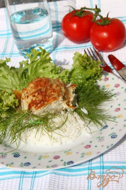 Рецепт Рыбные биточки, запечённые в рыбном соусе