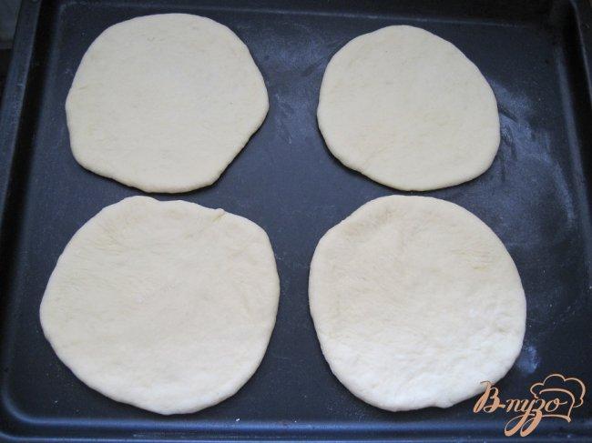 Фото приготовление рецепта: Пицца
