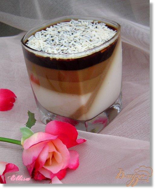 Рецепт Шоколадно-желейный десерт
