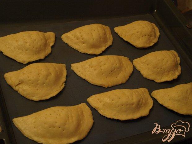 Фото приготовление рецепта: Закрытые хачапури шаг №3