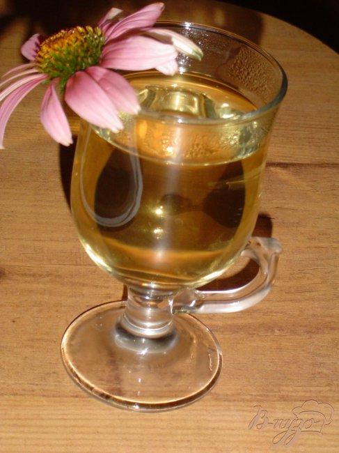Фото приготовление рецепта: Чай мятный с цветами эхинацеи шаг №4