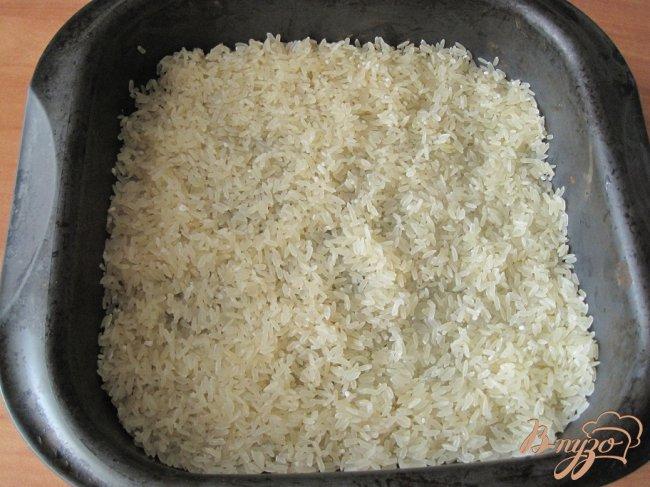 Фото приготовление рецепта: Курица запеченная с рисом. шаг №2