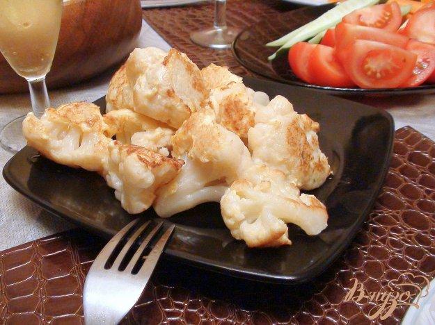 Рецепт Цветная капуста в олмете-карри.
