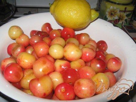 """Варенье из черешни с лимоном """"Янтарь"""""""