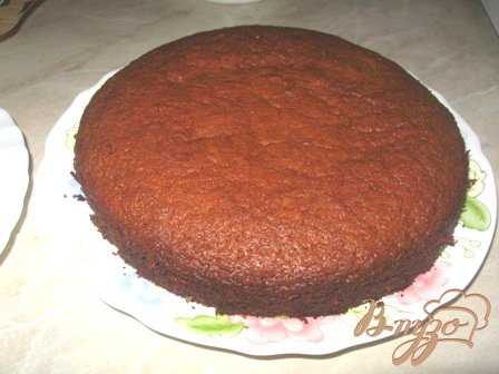 Медовый торт с вишней в желе