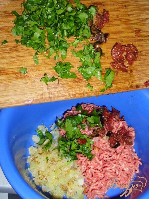 Фото приготовление рецепта: Тосканские рулады или голубцы по-итальянски шаг №2