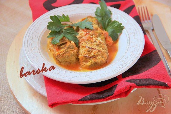 Фото приготовление рецепта: Тосканские рулады или голубцы по-итальянски шаг №6