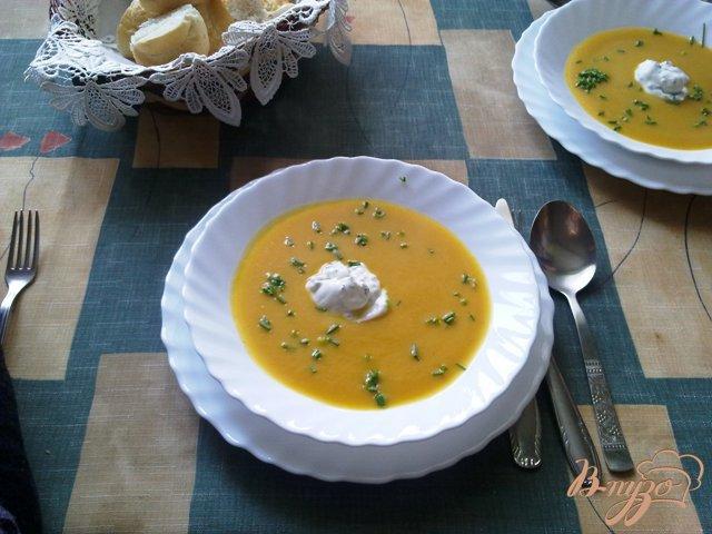 Фото приготовление рецепта: Суп-пюре из тыквы шаг №7