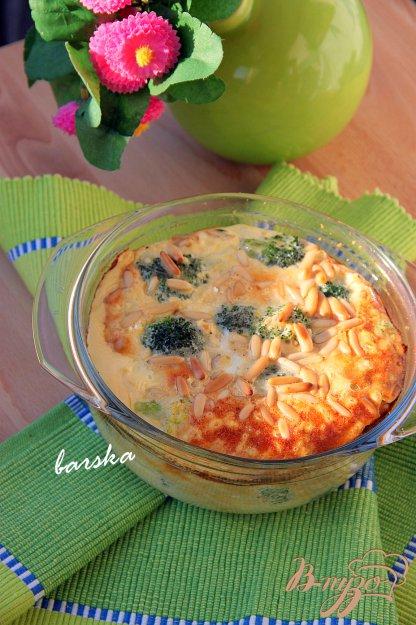 Рецепт Клафути с брокколи, пармезаном и кешью