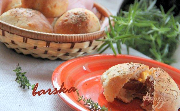 Рецепт Творожные булочки с финиками в беконе