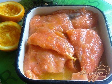 Малосоленый лосось