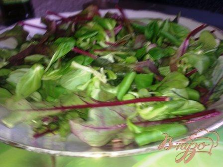Салат с вялеными(сушеными) помидорами