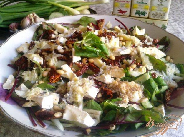 Рецепт Салат с вялеными(сушеными) помидорами