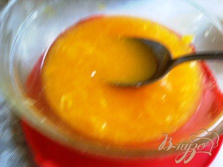 Ананасно-апельсиновый  сорбе
