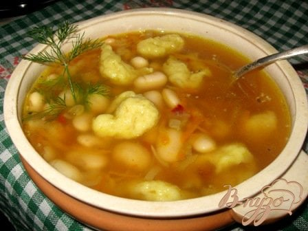 фото рецепта: Фасолевый суп по -сербски