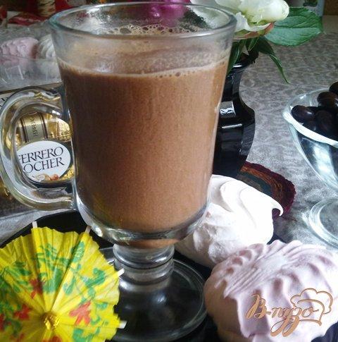 Рецепт Шоколадно-имбирный напиток