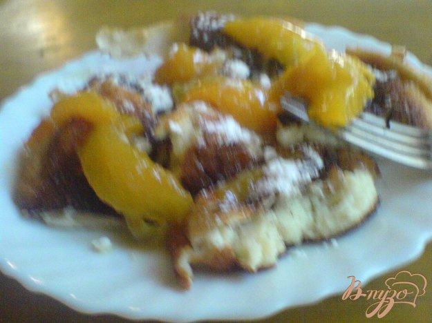 Рецепт Королевский омлет с абрикосами