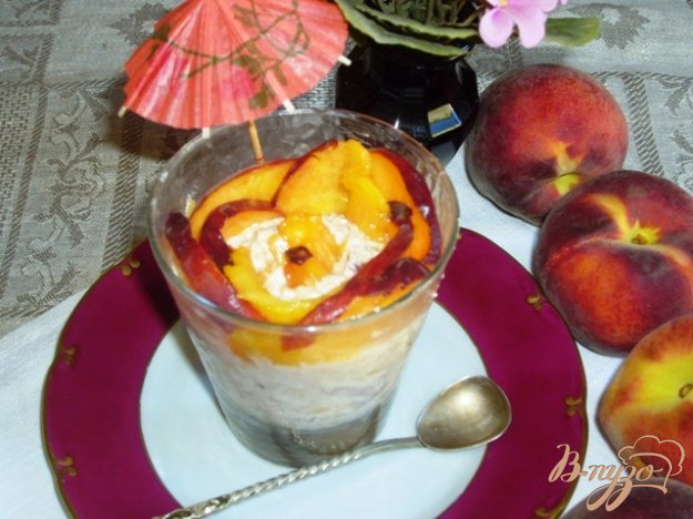 фото рецепта: Персиковый десерт