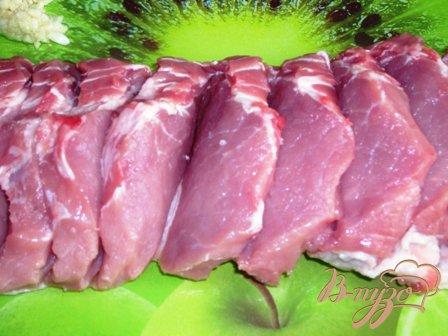 Веер из мяса