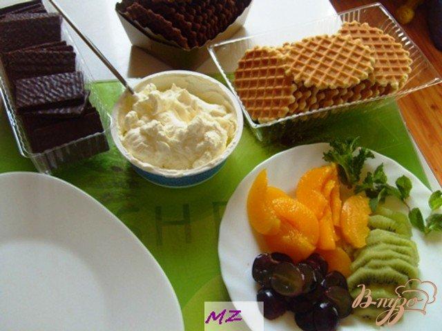 Фото приготовление рецепта: Десерт