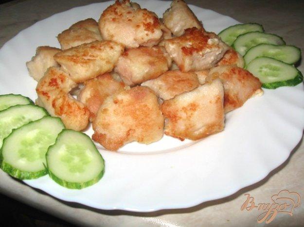 """Рецепт """"Свиной """" карбонад из куриного филе"""
