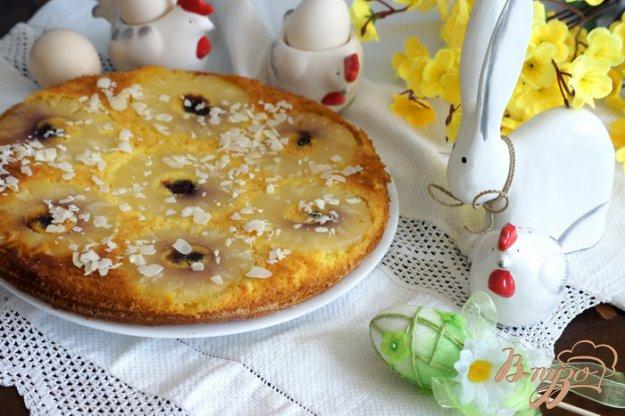Рецепт Пирог-перевертыш с ананасами