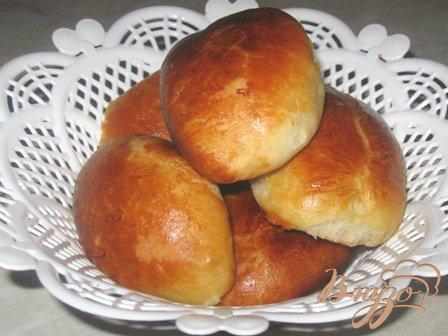 Рецепт Пирожки с изюмом на кефире