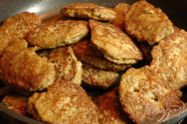 Рецепт Закусочные печеночные оладьи