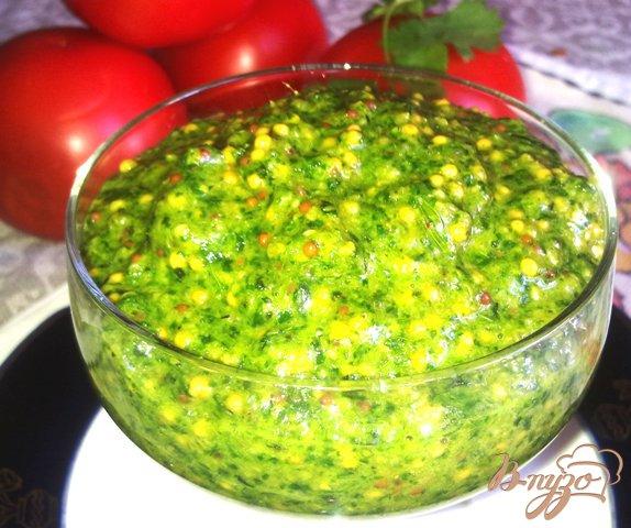 Рецепт Изумрудный соус