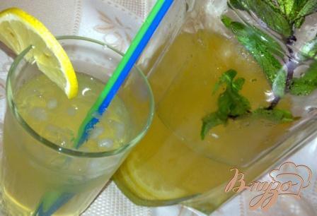 """Рецепт Лимонно-мятный напиток """"Свежесть"""""""