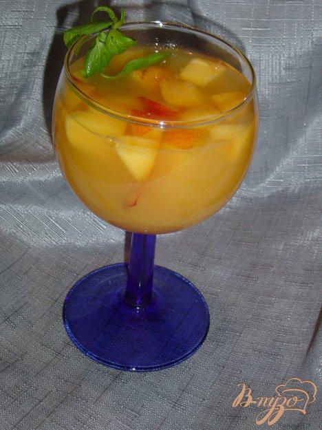 """Рецепт Коктейль """"Персиково-абрикосовый рай"""""""
