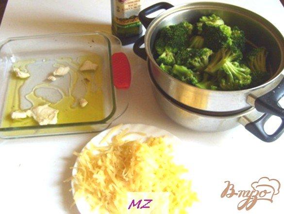 Фото приготовление рецепта: Запеканка из брокколи шаг №2