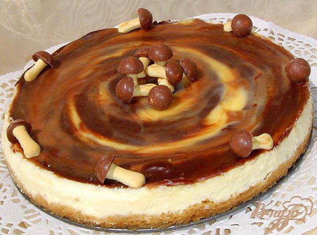 Рецепт Сливочный тарт с карамелью