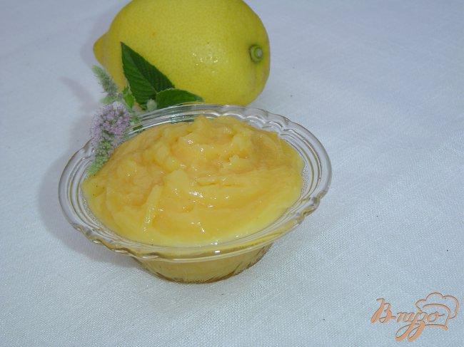 Фото приготовление рецепта: Лимонный крем - Lemon curd шаг №6