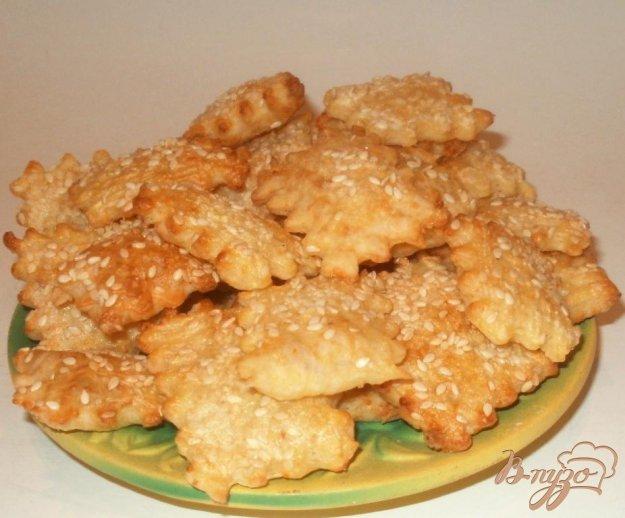 фото рецепта: Сырные крекеры