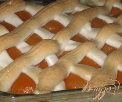 Рисово-творожная запеканка с абрикосами