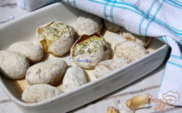 """Рецепт Картофель """"в пепле"""""""